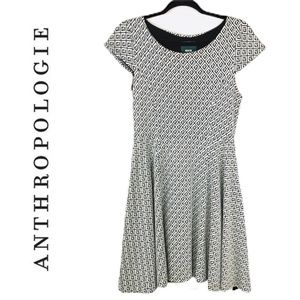 Anthropologie Maeve Fit & Flare Dress Small